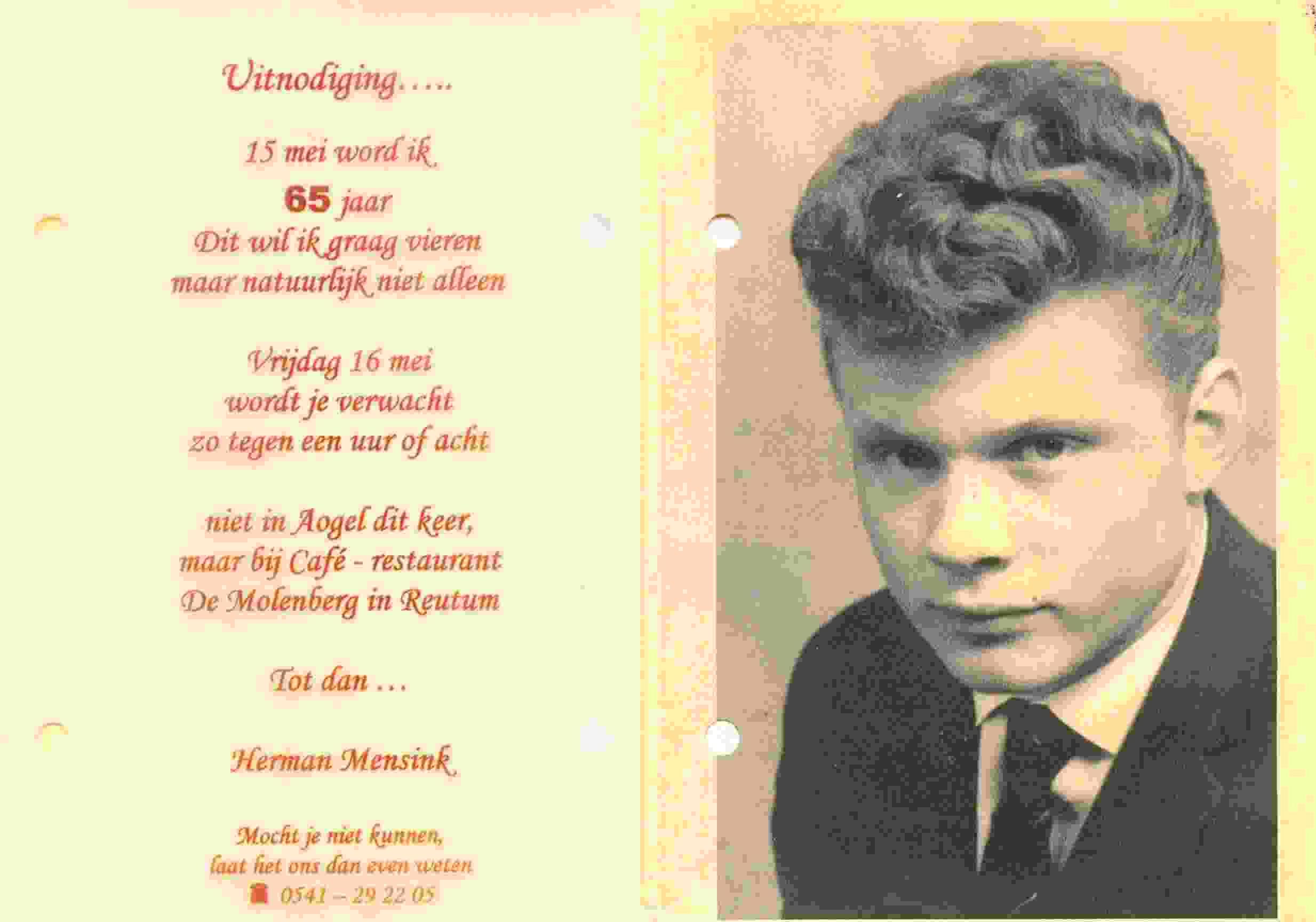 Tekst 65 Jaar Verjaardag Kkn 93 Wofosogo